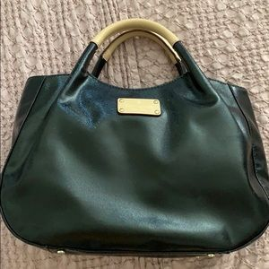 Kate spade patent leather hand bag